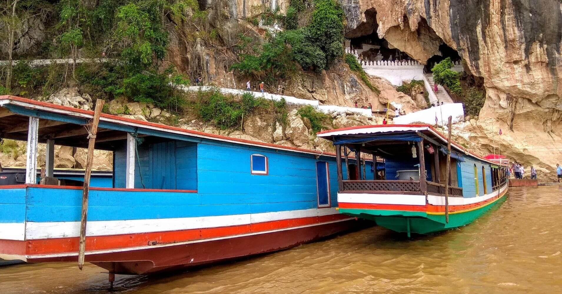 Excursión a las Cuevas de Pak Ou. Luang Prbang.