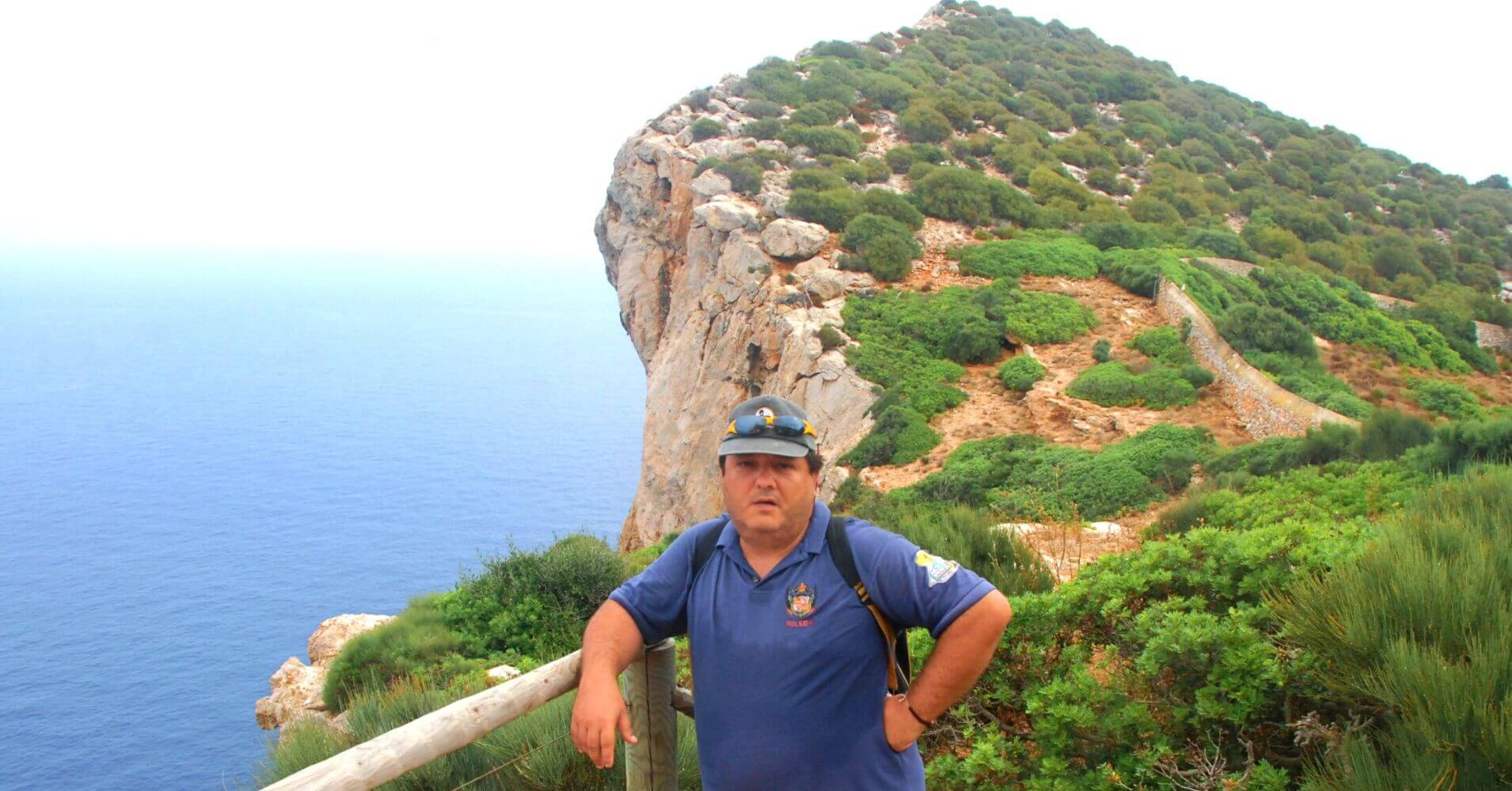 Faro Vell. Isla de Dragonera. Islas Baleares.