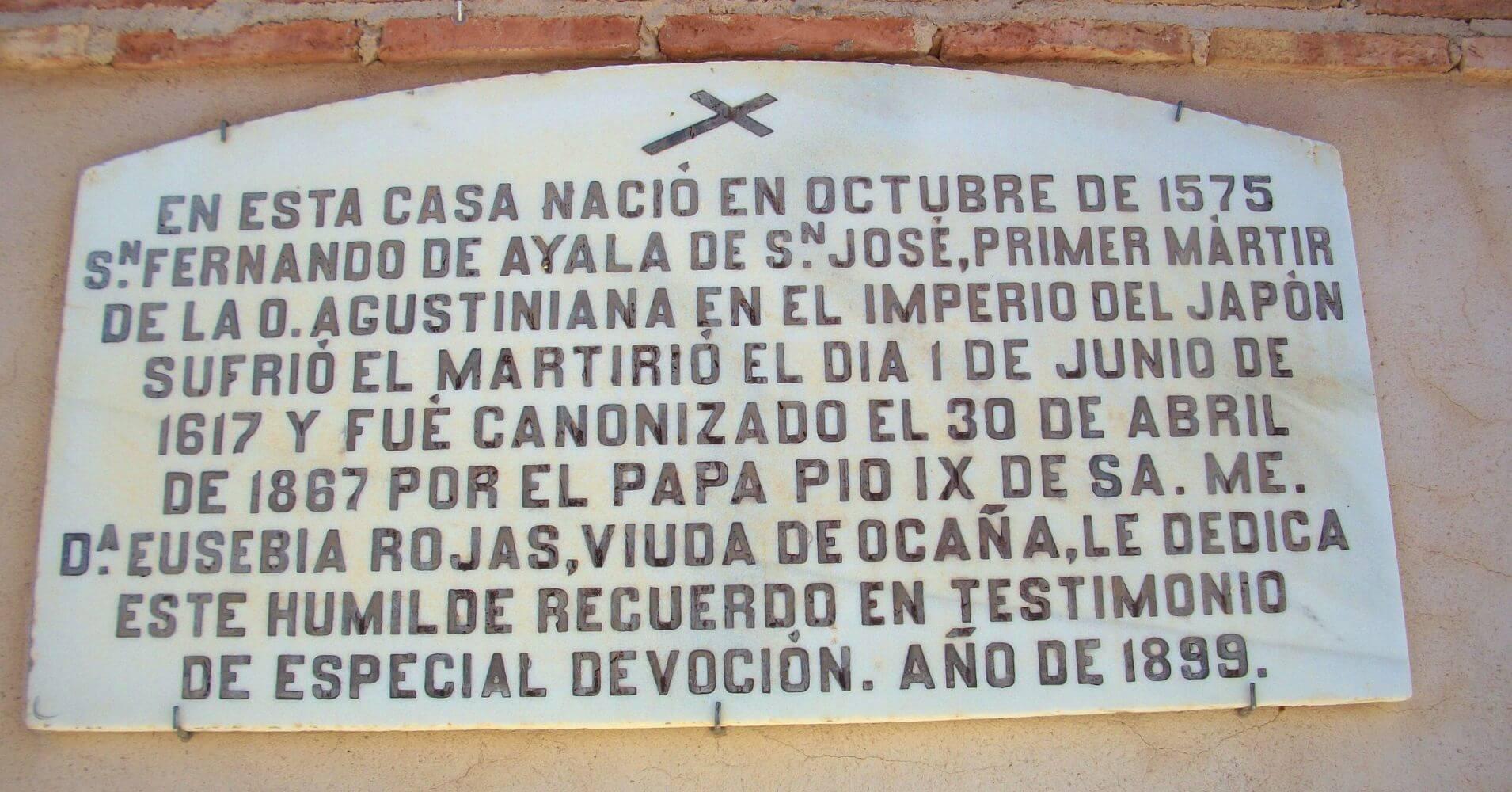 Fernando de Ayala. Ballesteros de Calatrava. Ciudad Real. Castilla la Mancha.