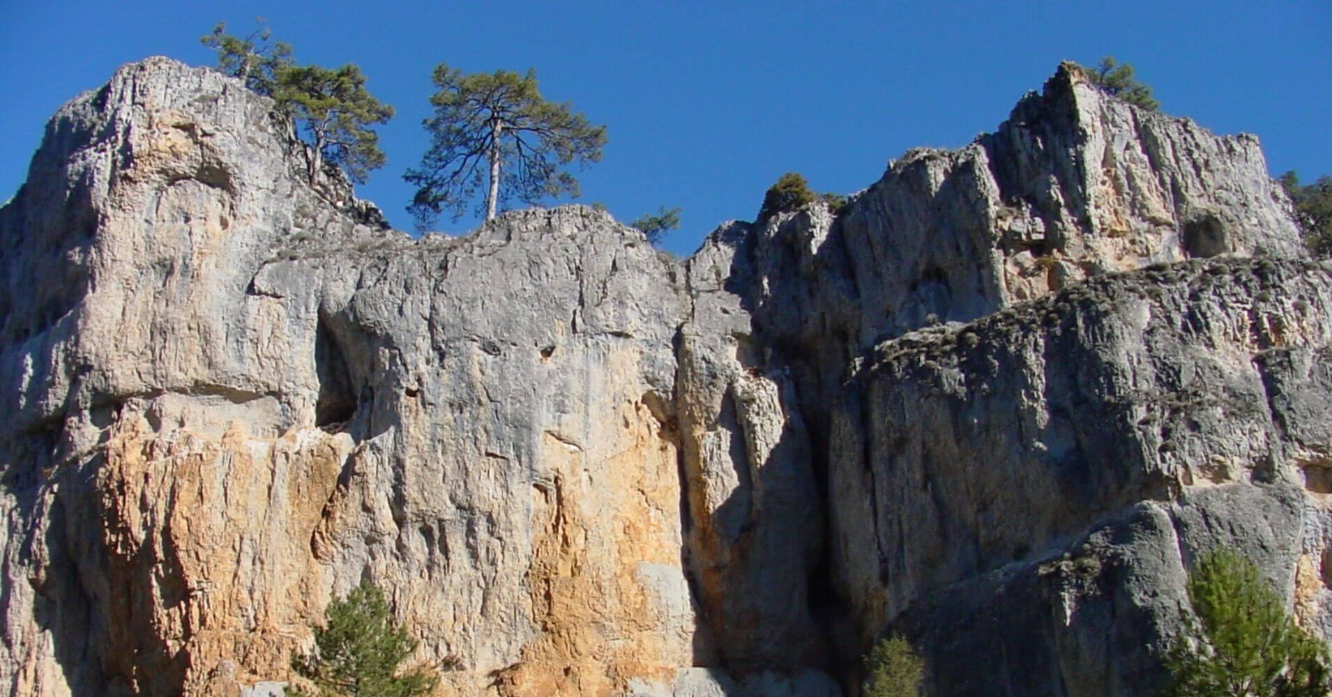Formaciones Calcáreas del Cañón del río Lobos. Burgos, Soria. Castilla y León.