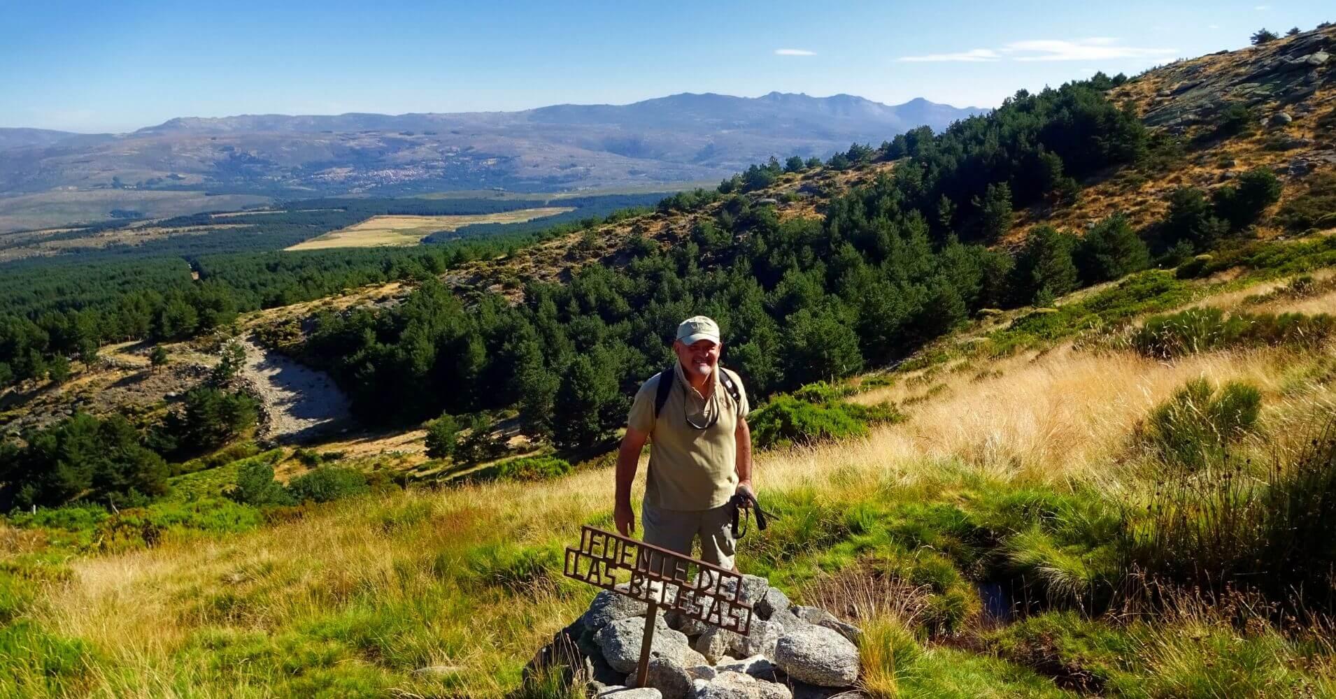 Fuente de las Belesas. Subida al Pico Torozo, Sierra de Gredos, Ávila. Castilla y León.