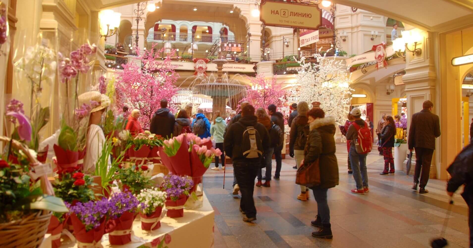 Galerías Gum, Moscú. Rusia.
