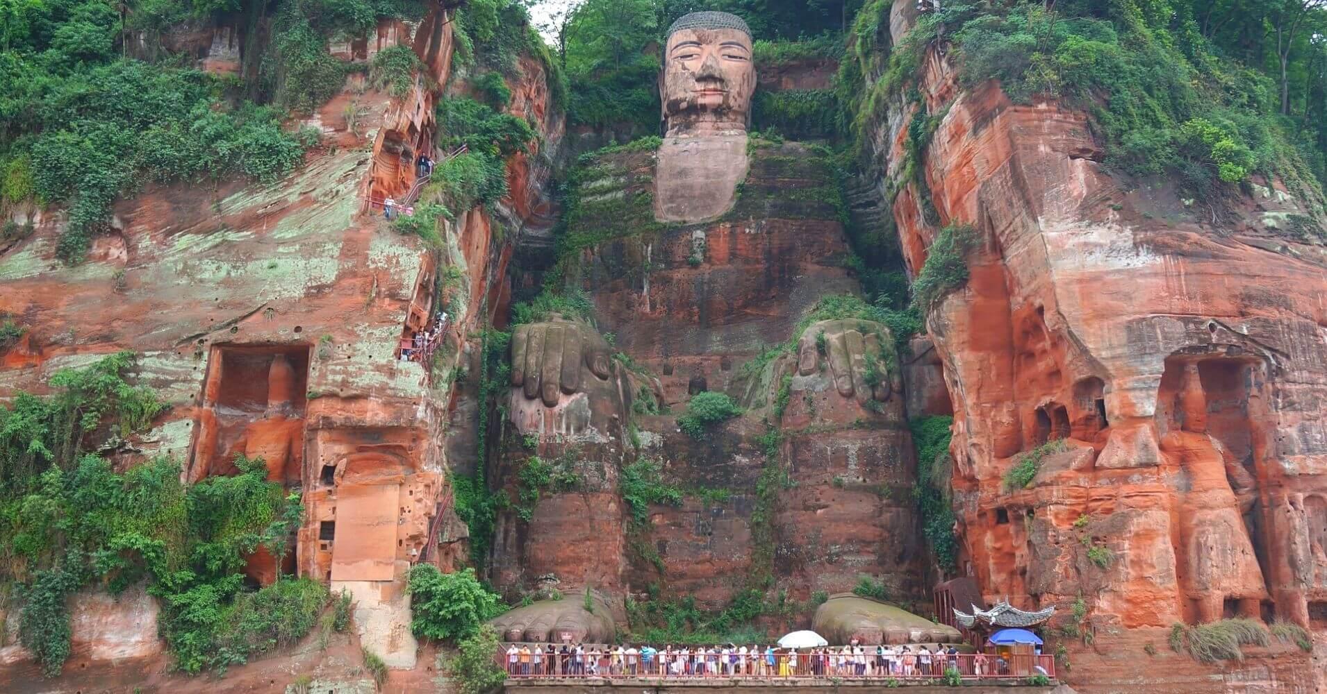 Gran Buda de Leshan. Chengdu.