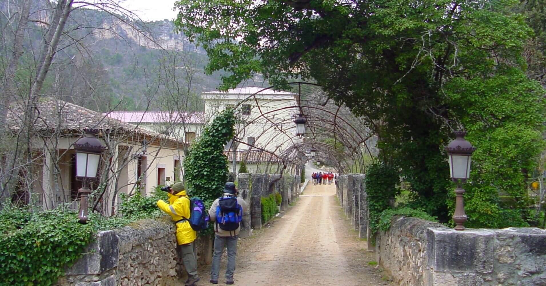 Jardines del Real Balneario de Solán de Cabras. Cuenca, Castilla la Mancha.