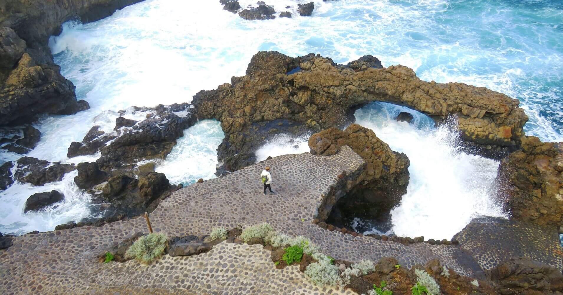 La Fajana. Isla de la Palma en Invierno. Islas Canarias.