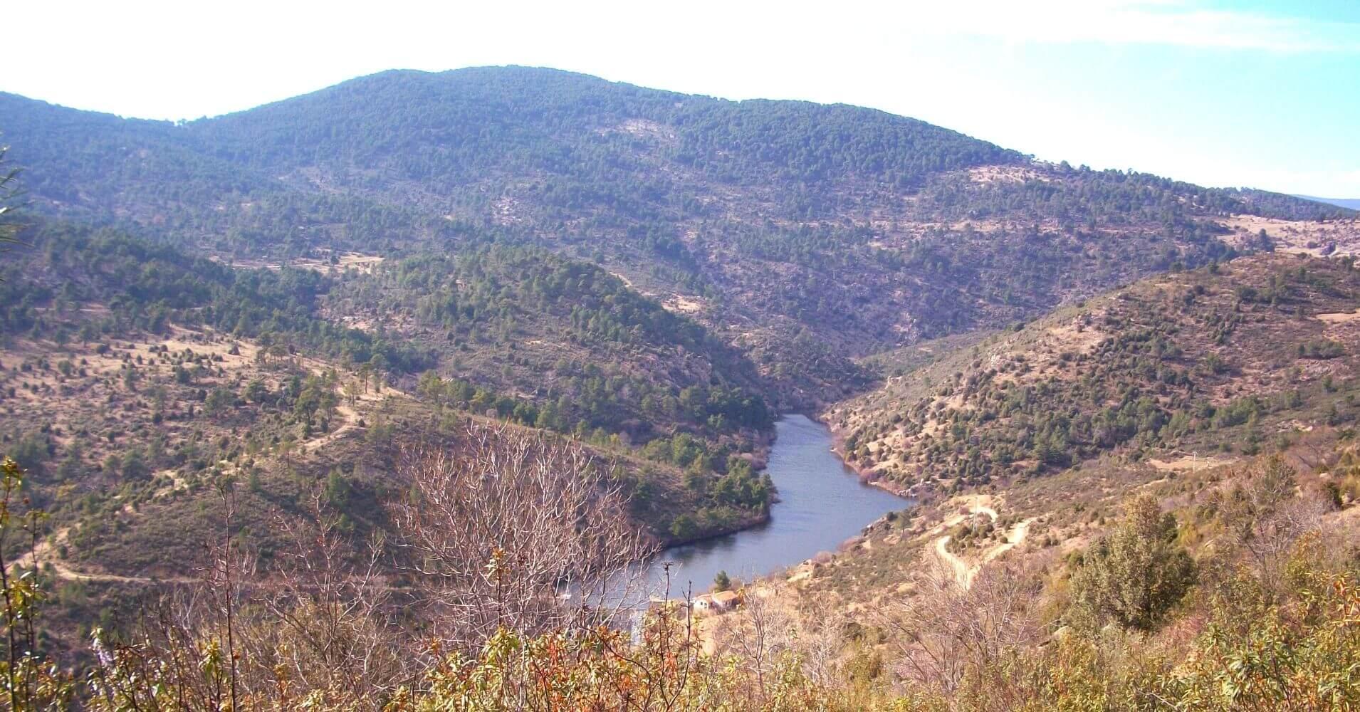 La Garganta del Río Cofio. Robledo de Chavela. Madrid.