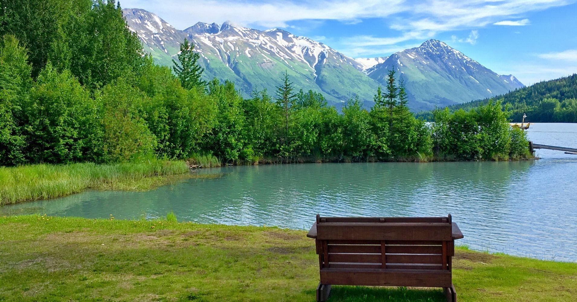 Lagos y Paisajes de Alaska. Estados Unidos.