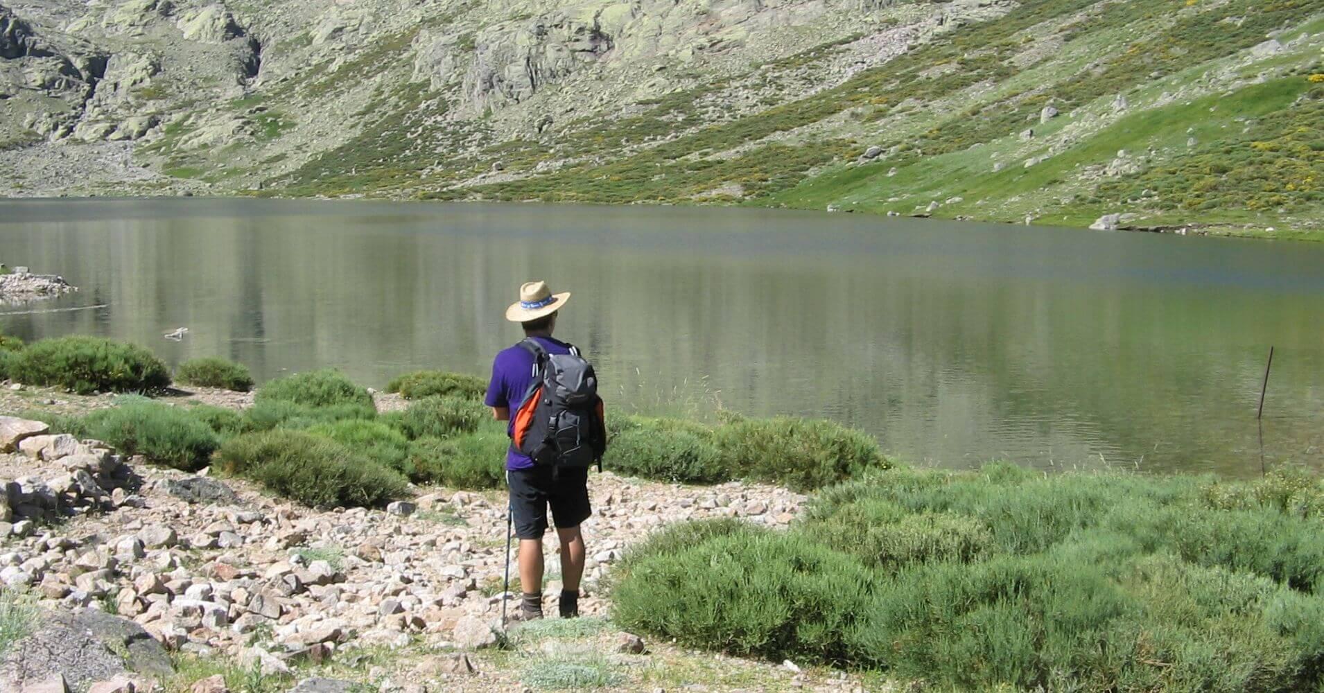 Laguna del Barco o de Galín Gómez. PR AV 36. Puerto Castilla. Ávila. Castilla y León.