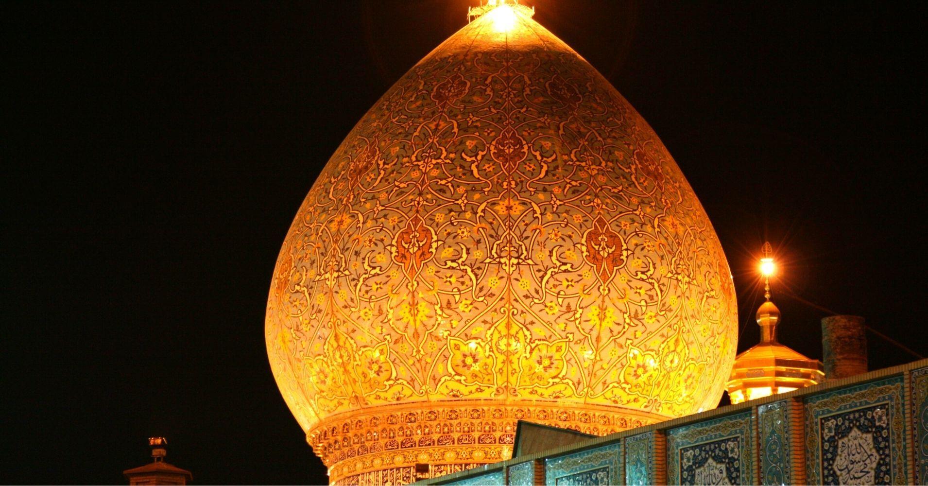 Mausoleo de Shah e Cheragh. Shiraz. Irán.