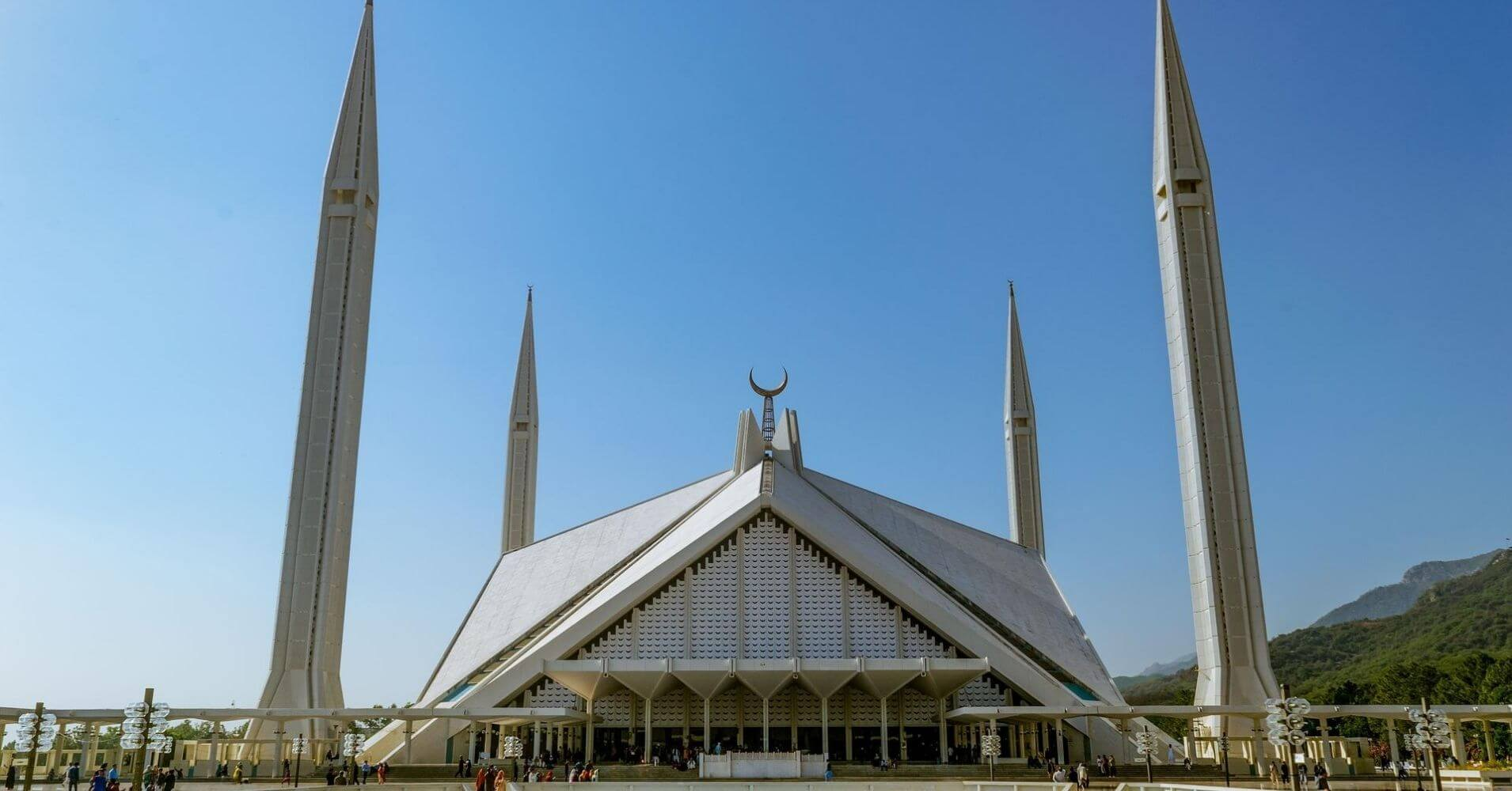 Mezquita Faisal. Islamabad,