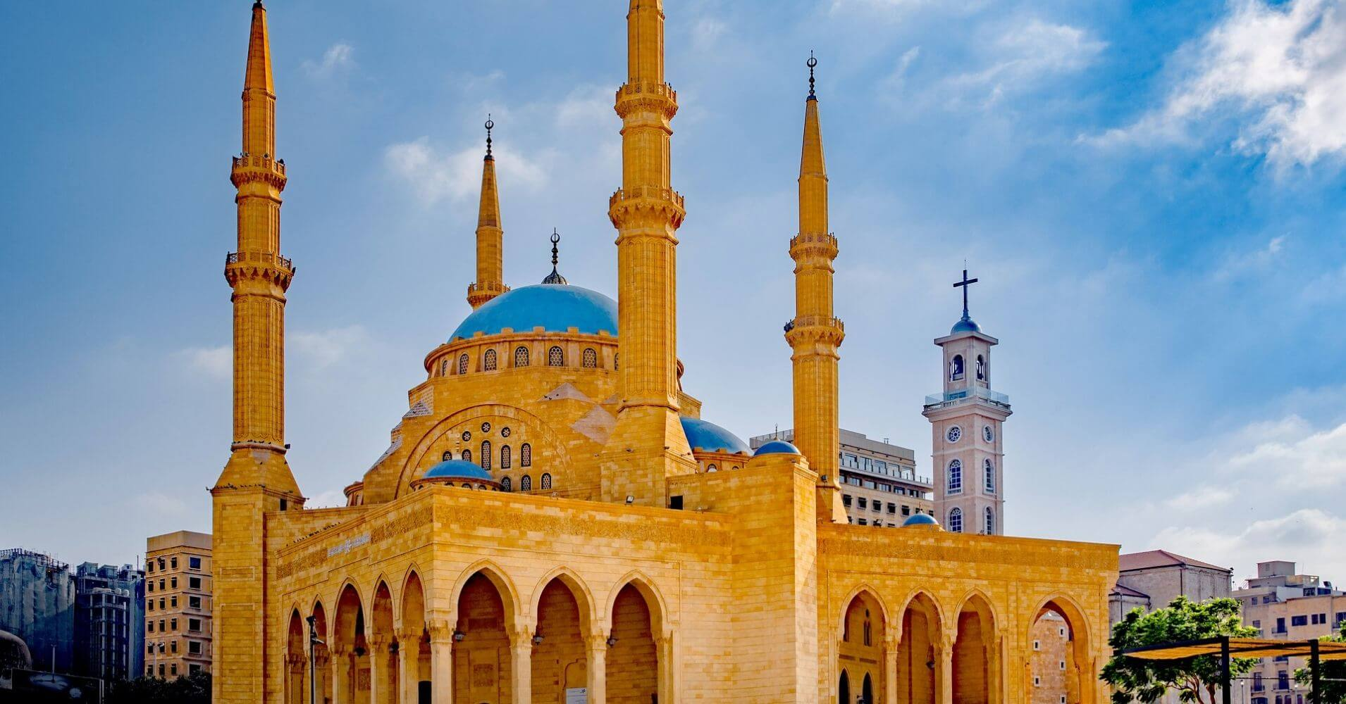 Mezquita Mohammad Al-Amin Mosque. Líbano.