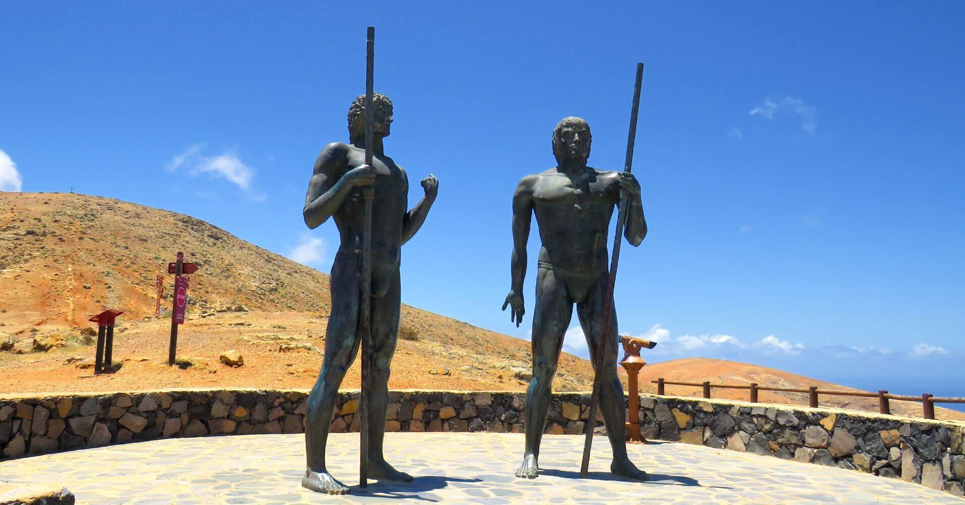 Mirador de Guise y Ayose. Isla de Fuerteventura. Islas Canarias.
