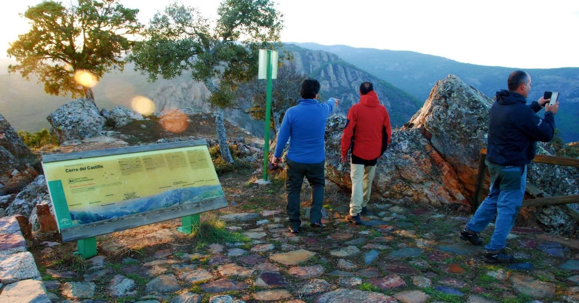 Mirador del Cerro del Castillo. Parque Natural de Despeñaperros. Jaén.