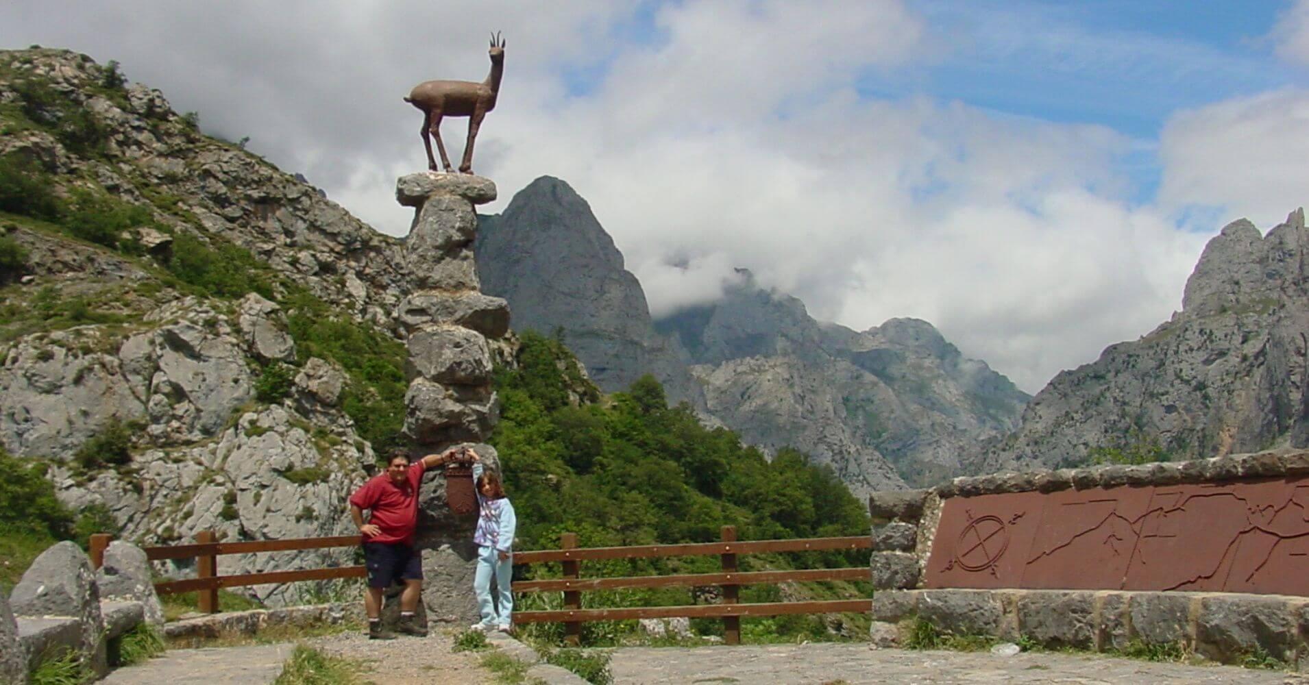 Mirador del Tombo, Posada del Valdeón. Parque Nacional de Picos de Europa. León.