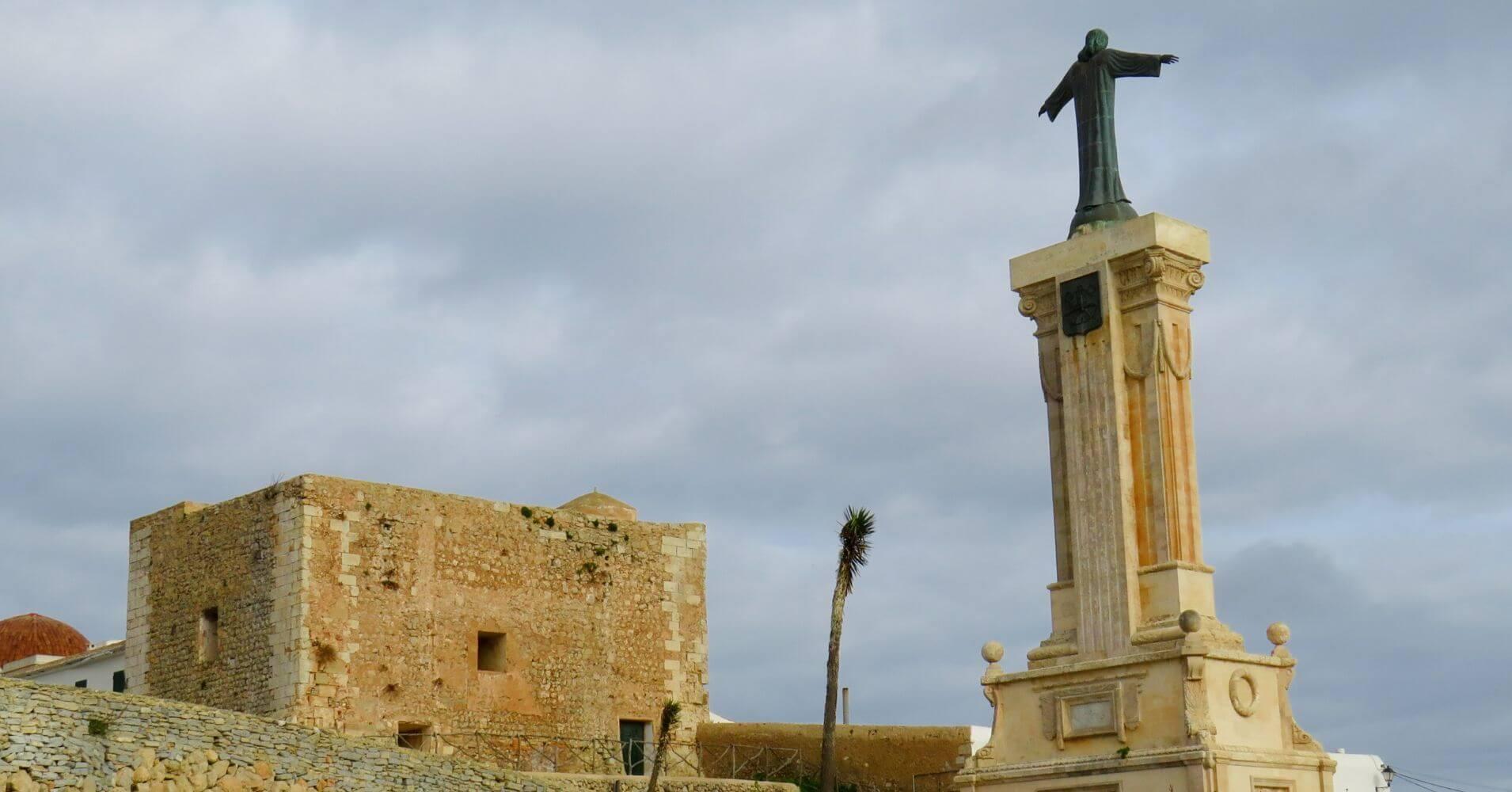 Mirador del Toro. Isla de Menorca. Baleares.