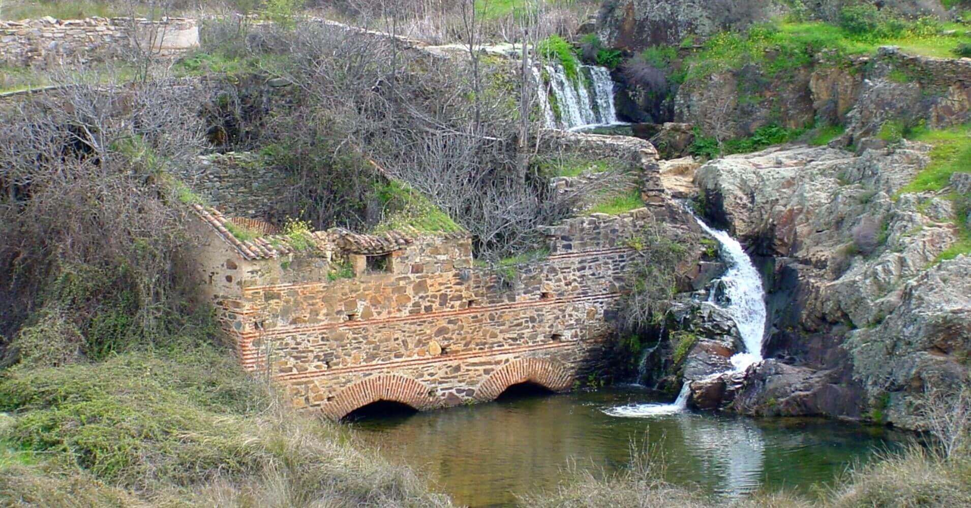 Molinos de Río Frío. Vía Verde de la Jara. Toledo. Castilla la Mancha.