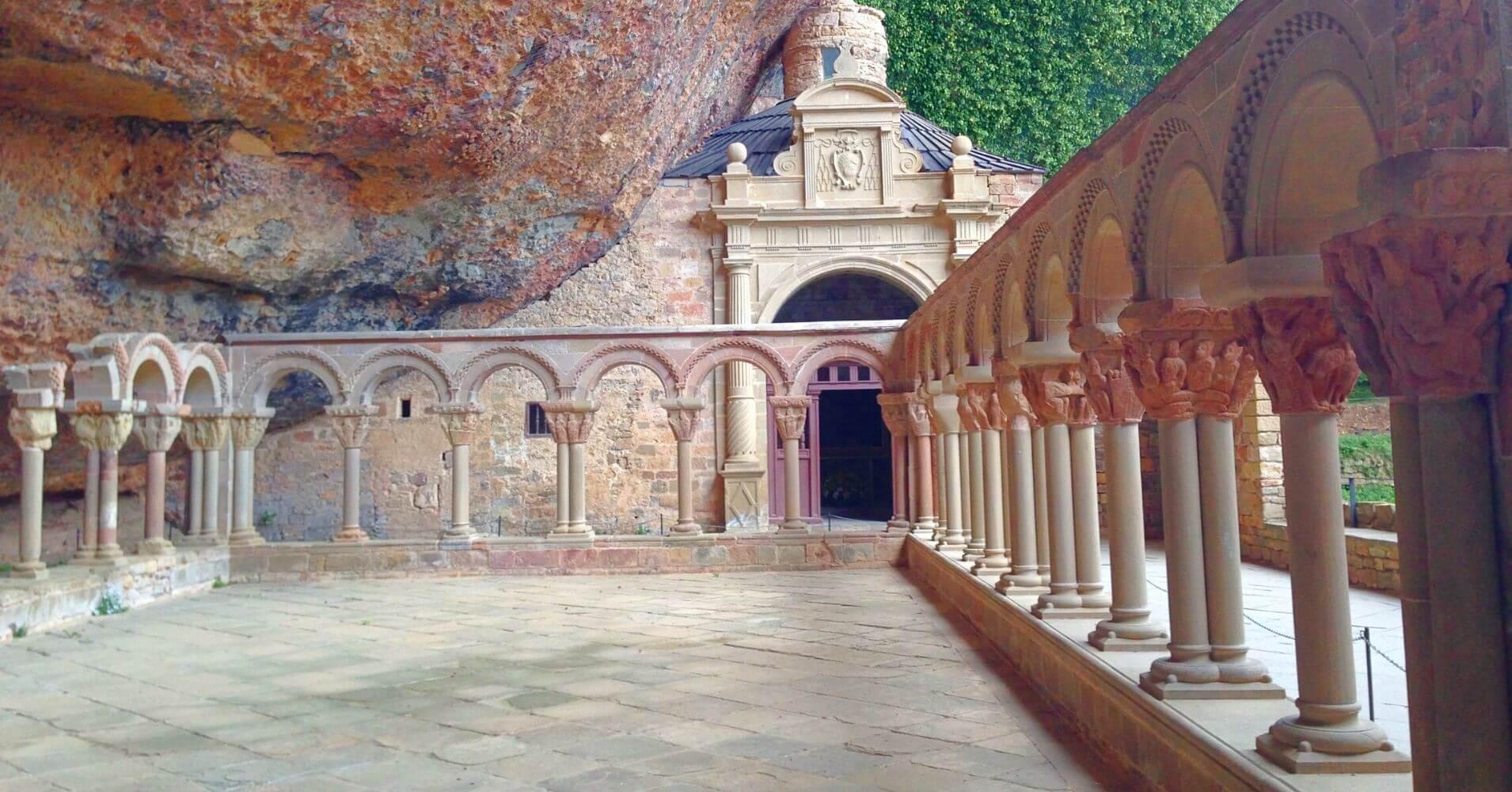 Monasterio de San Juan de la Peña. Jaca, Huesca. Aragón.