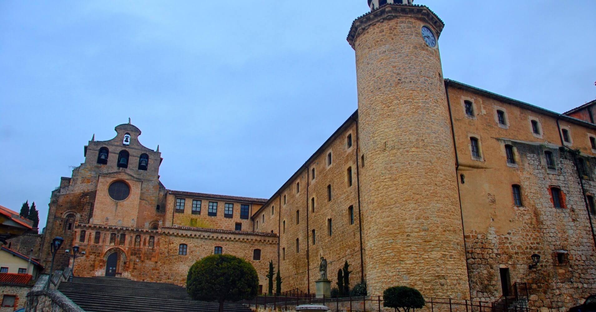Monasterio de San Salvador. Las Merindades. Burgos. Castilla y León.