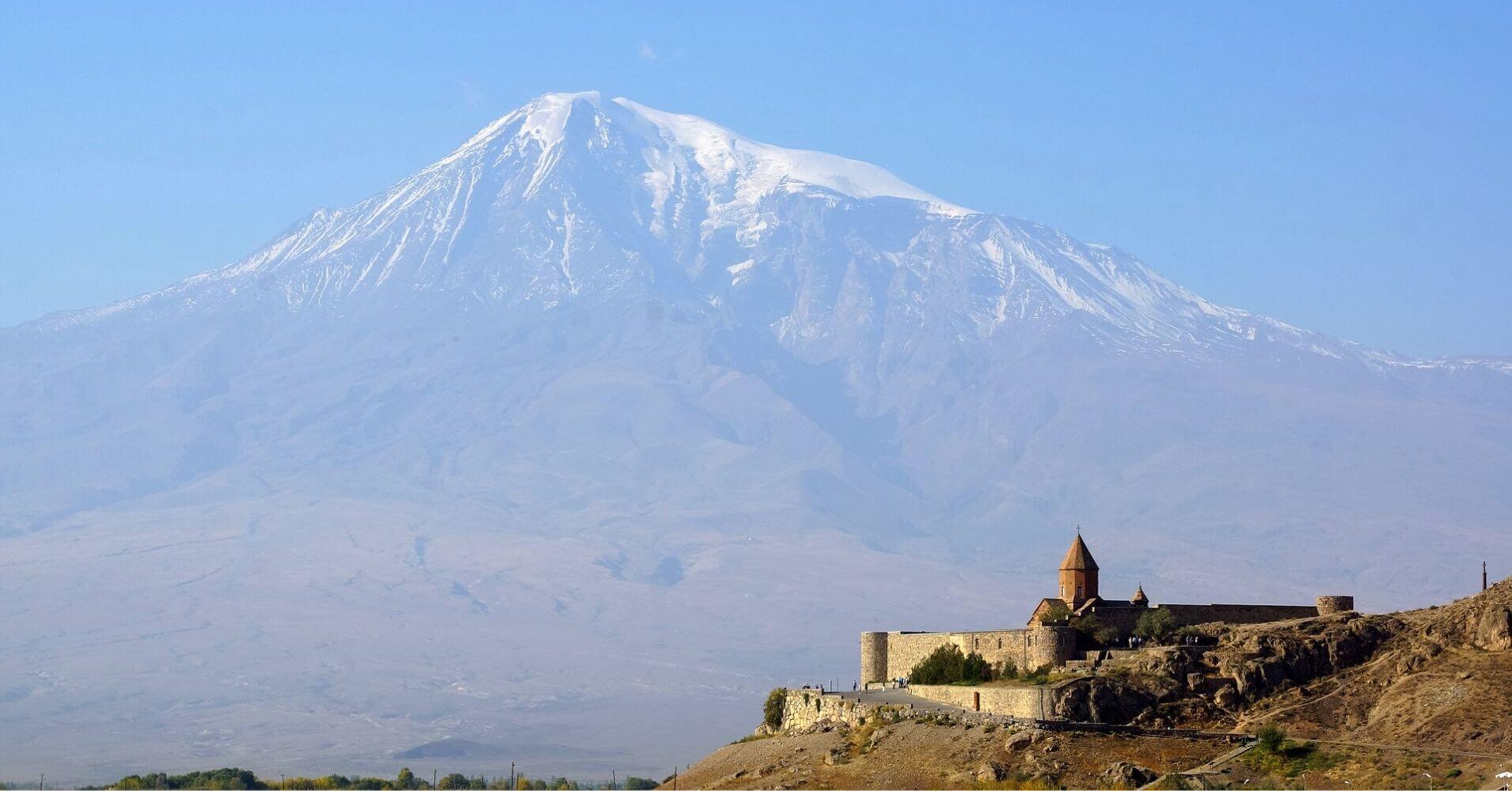Monasterio Khor Virap. Ararat. Armenia.