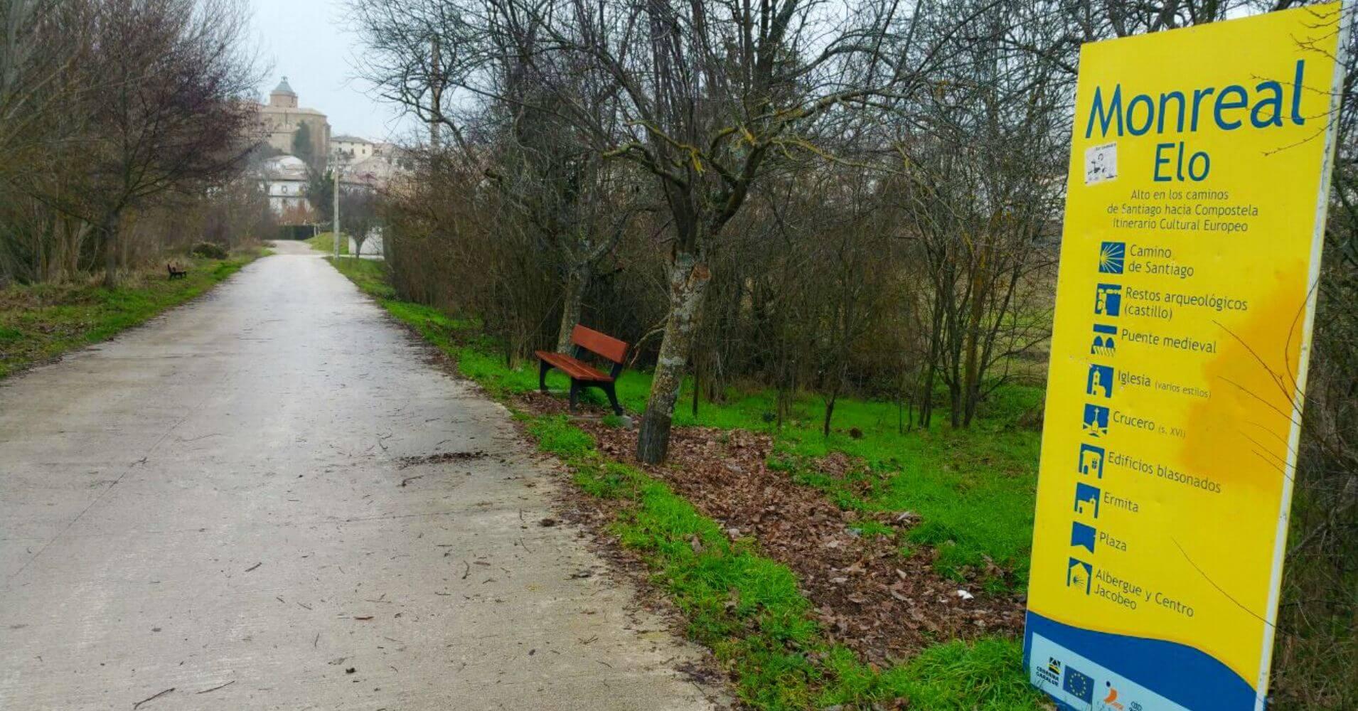 Monreal, Camino de Santiago Aragonés. Etapa 5.