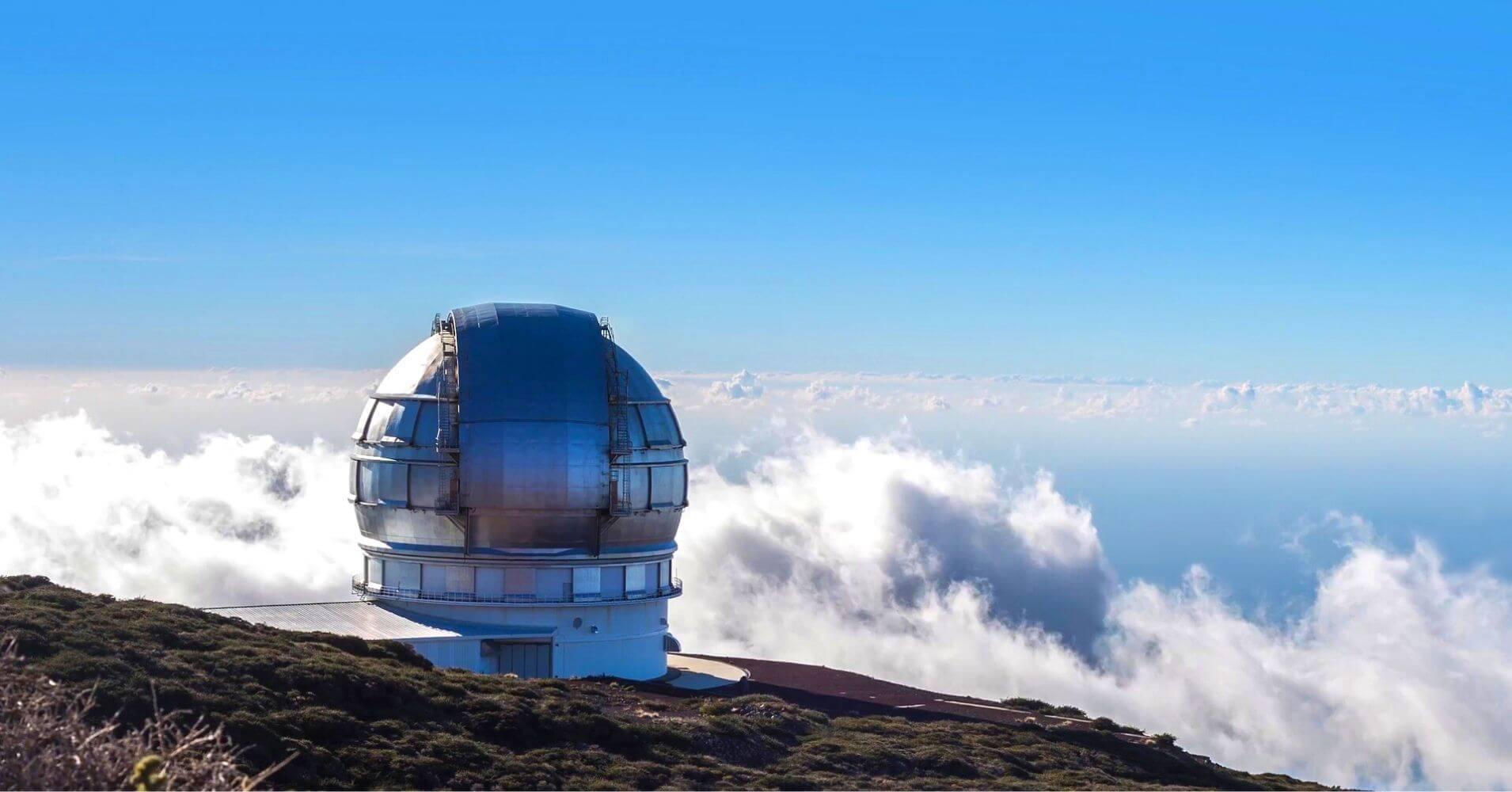 Observatorio del Parque Nacional Caldera de Taburiente. Isla de La Palma. Islas Canarias.