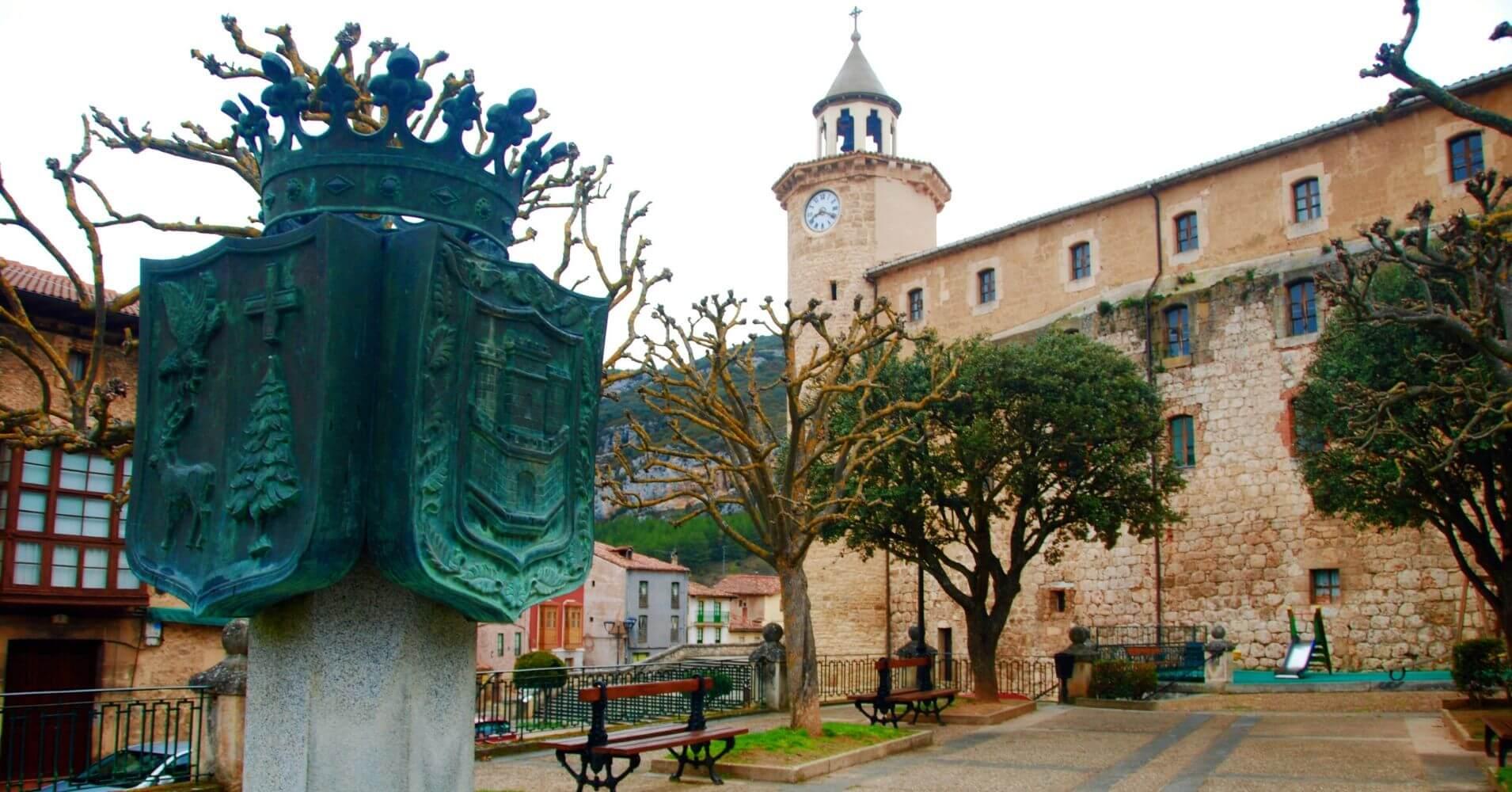 Villa milenaria de Oña. Las Merindades. Burgos. Castilla y León.