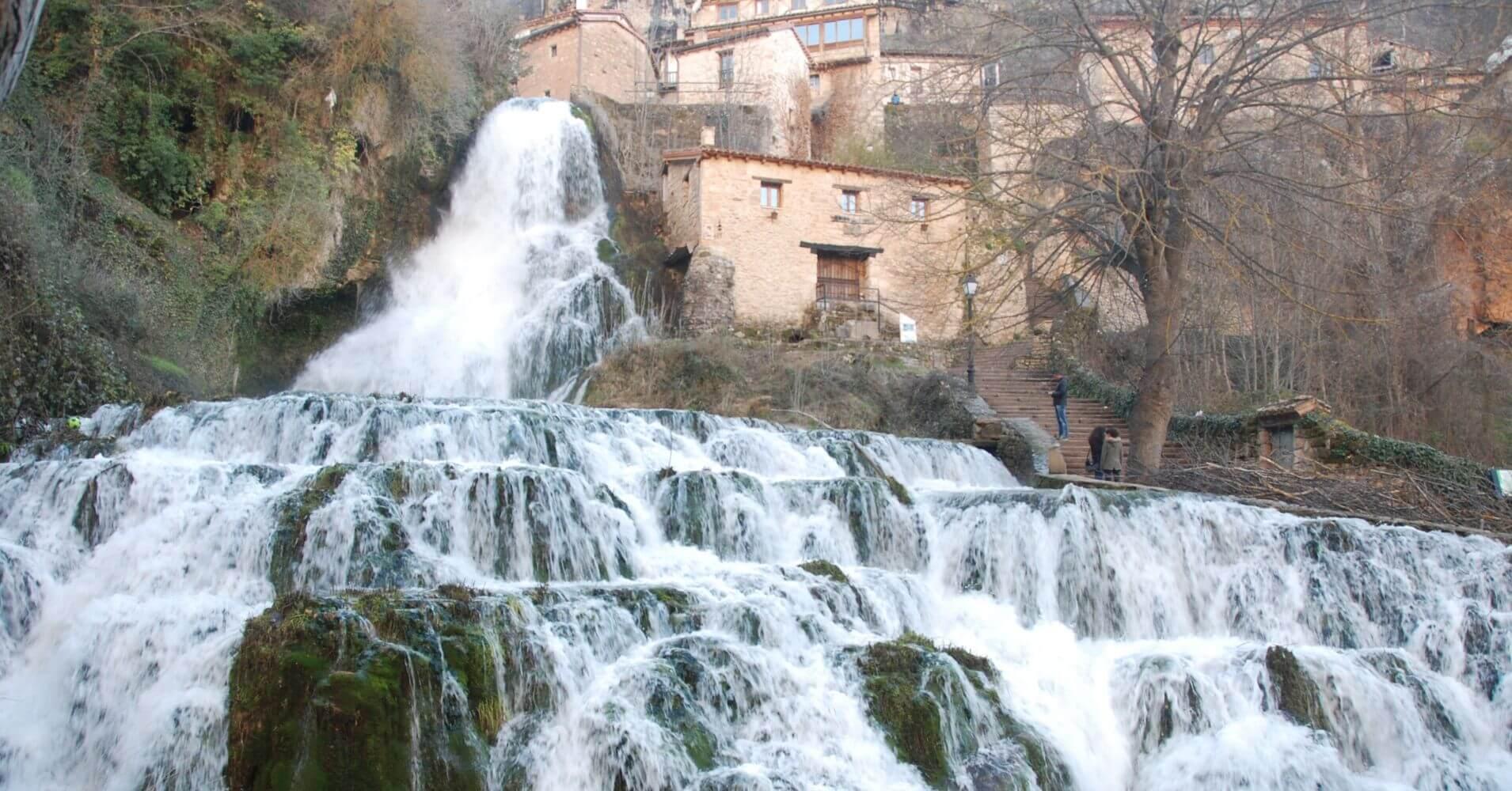 Orbaneja del Castillo. Viaje a Las Merindades. Burgos.