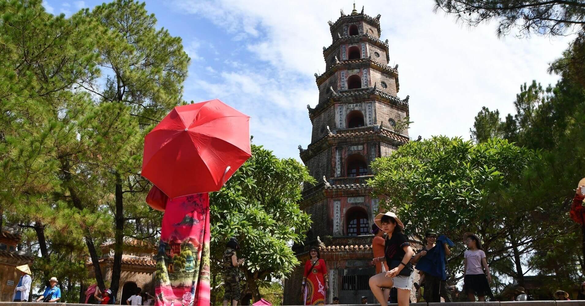 Pagoda Thien Mu. Hué.