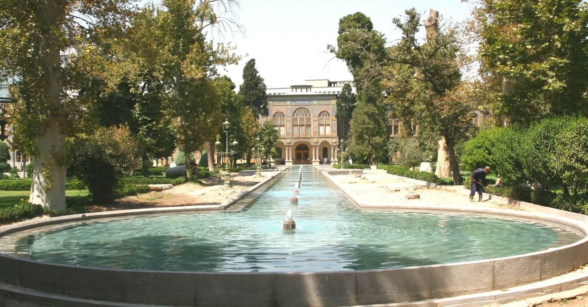 Palacio de Golestán. Teherán. Irán.