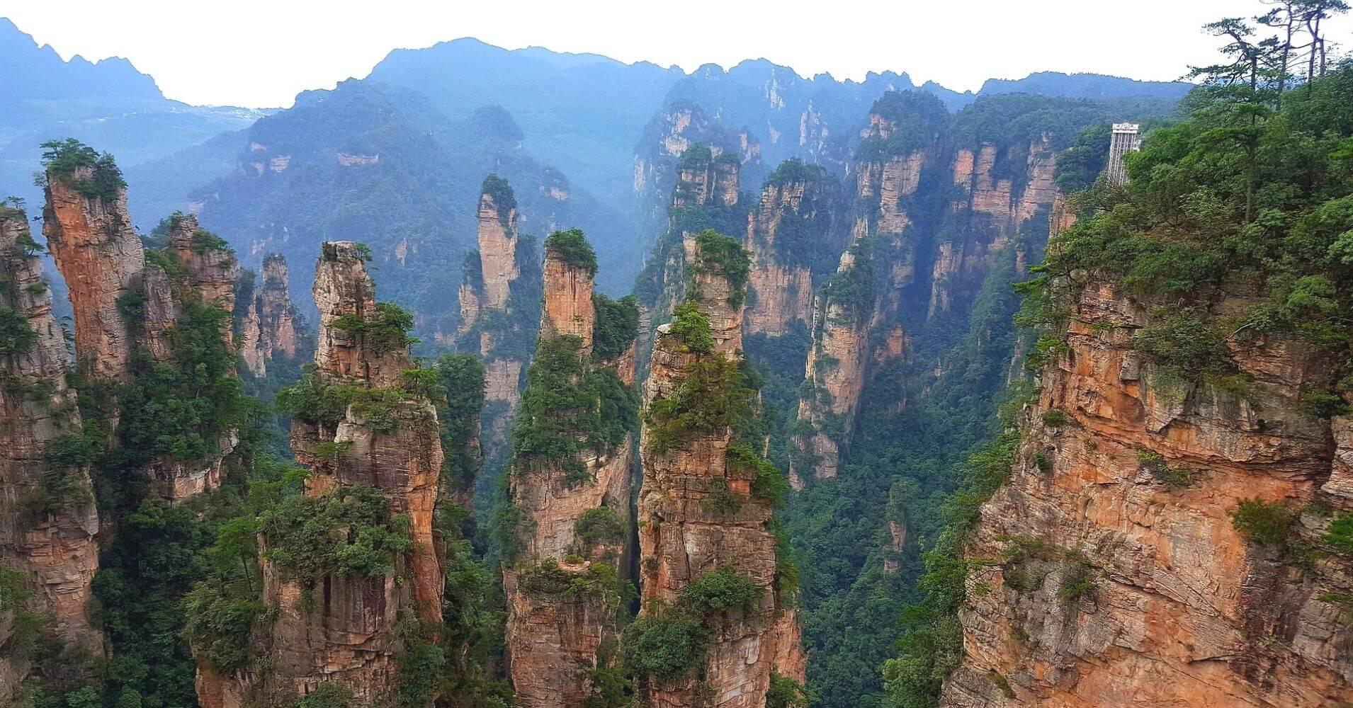 Parque Forestal Nacional de Zhangjiajie.