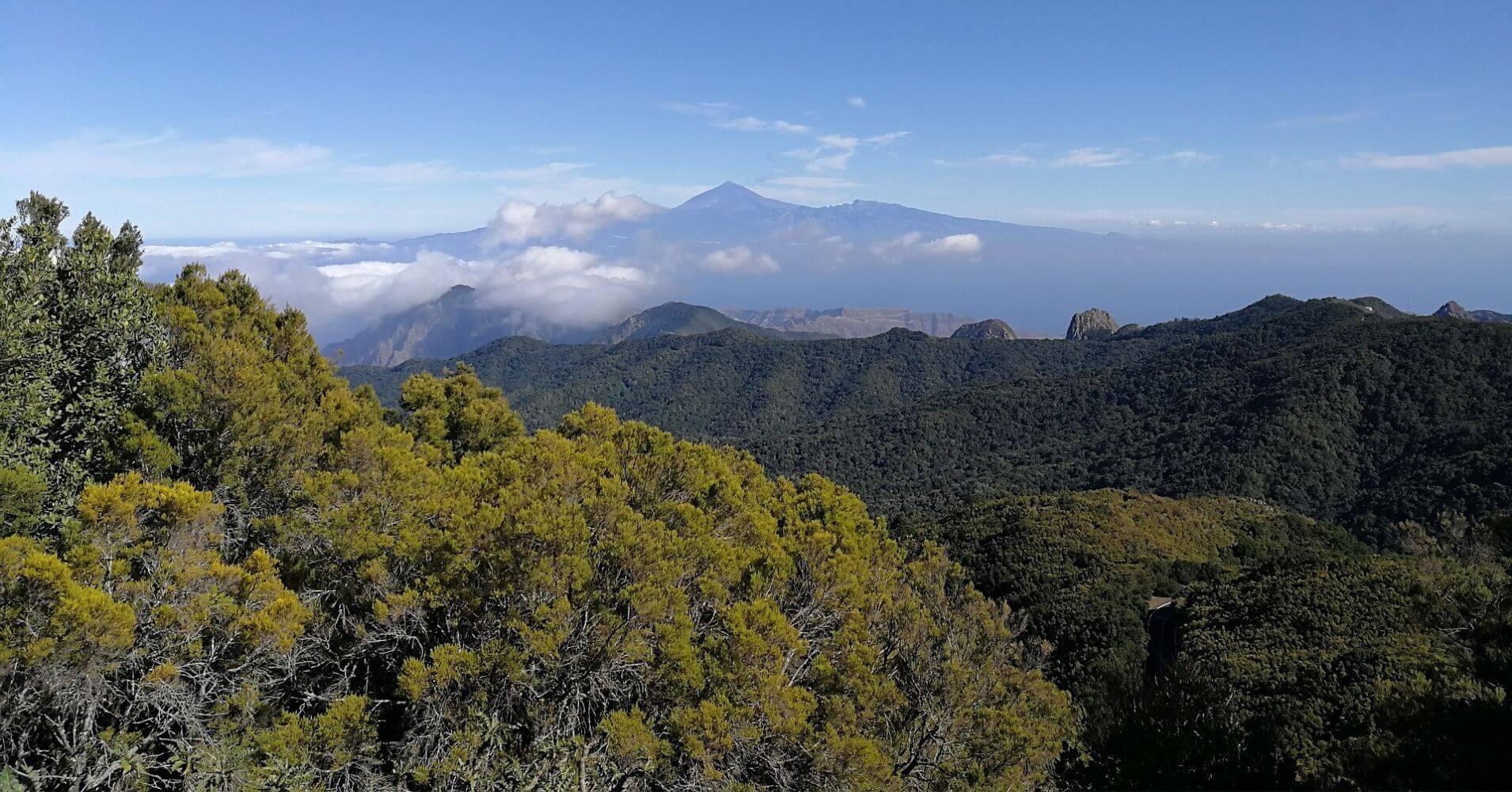 Mirador de La Gomera, Islas Canarias.