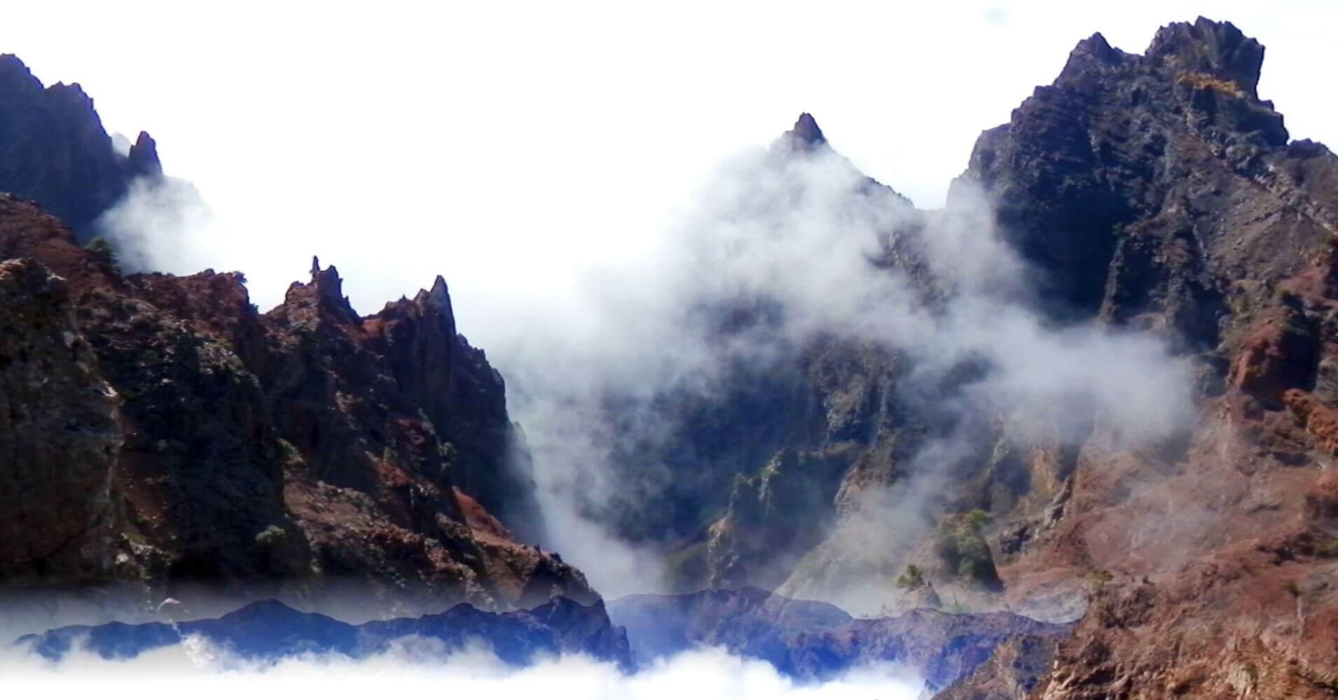 Parque Nacional de la Caldera de Taburiente. Isla de La Palma. Canarias.