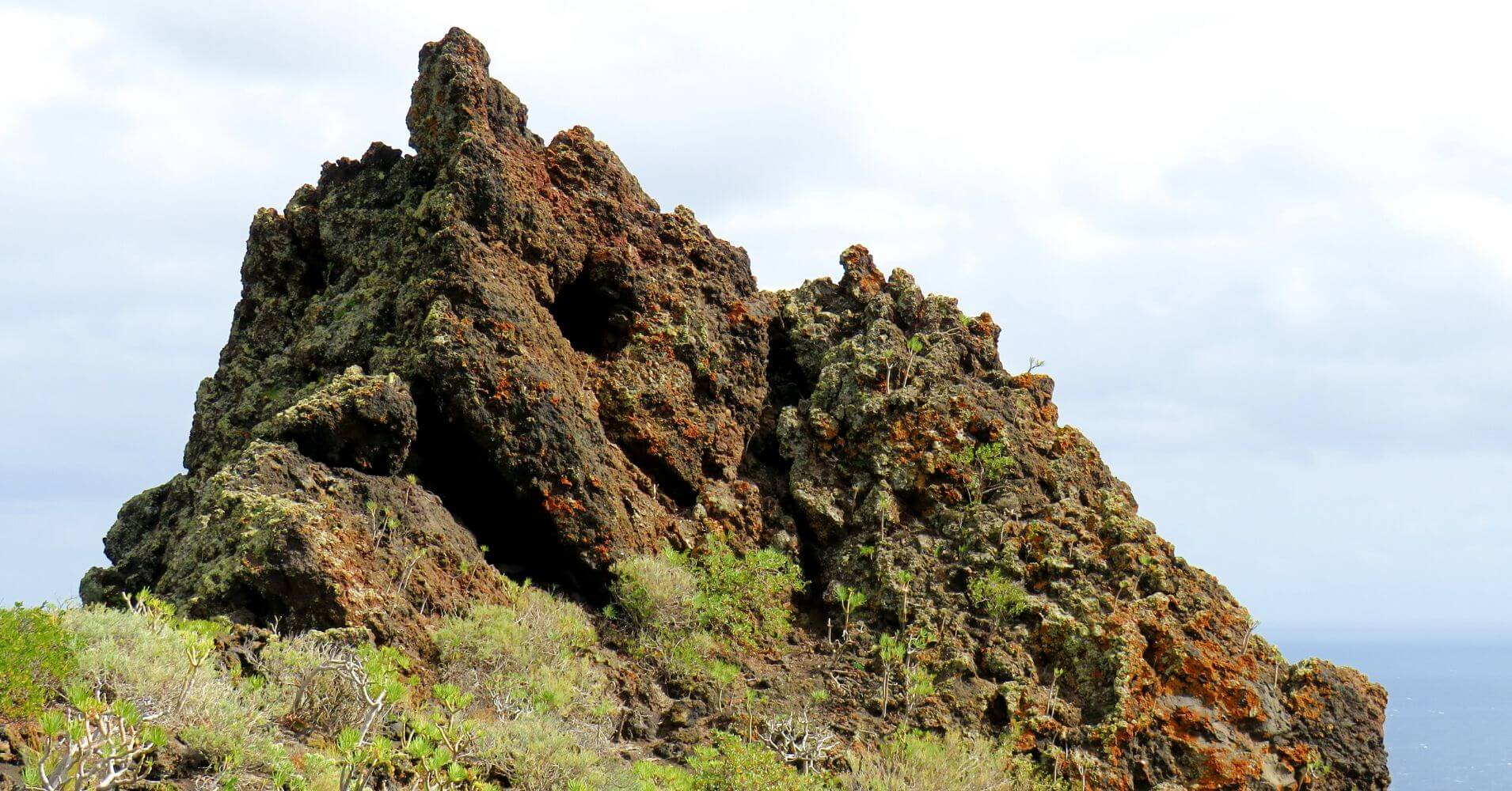 Parque Nacional de la Caldera de Taburiente. Isla de La Palma en Invierno. Islas Canarias.