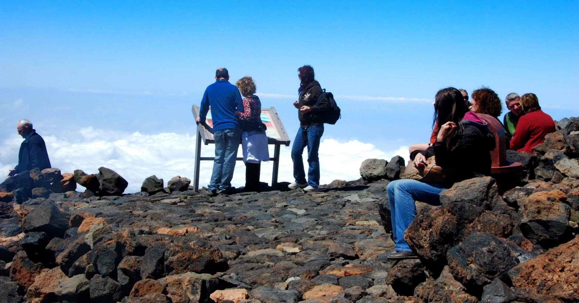 Mirador de Pico Viejo. Isla de Tenerife. Islas Canarias.
