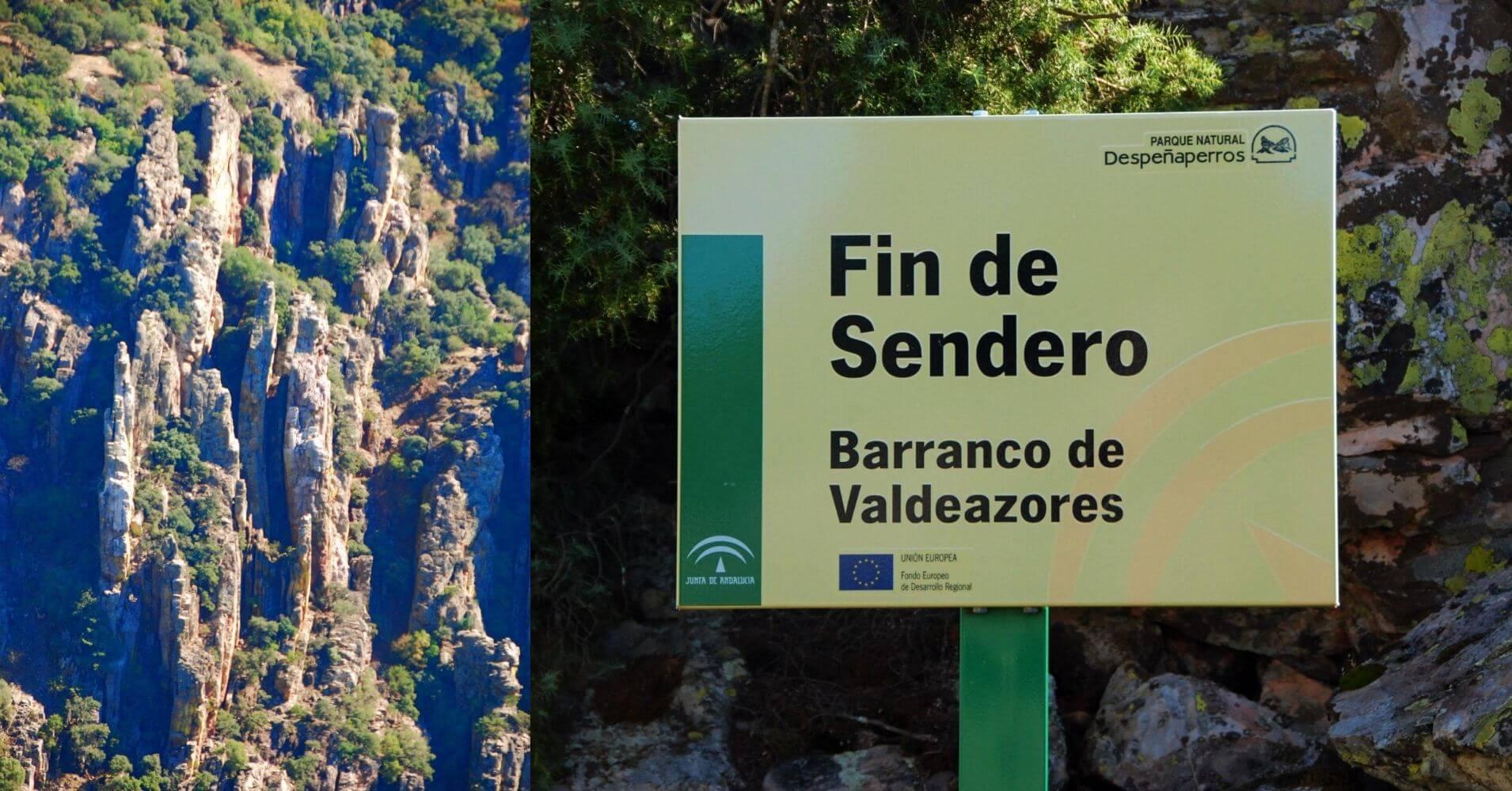 Parque Natural de Despeñaperros. Barranco de Valdeazores. Jaén.