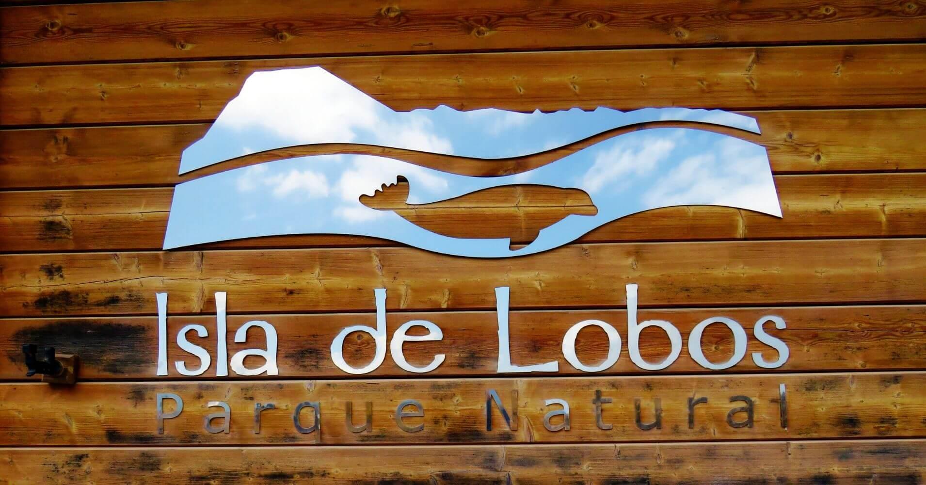 Parque Natural Isla de Los Lobos. Fuerteventura. Islas Canarias.
