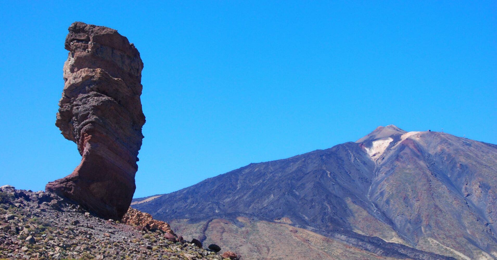 Parques Nacionales de Canarias. Parque Nacional Cañadas del Teide. Isla de Tenerife, Islas Canarias.