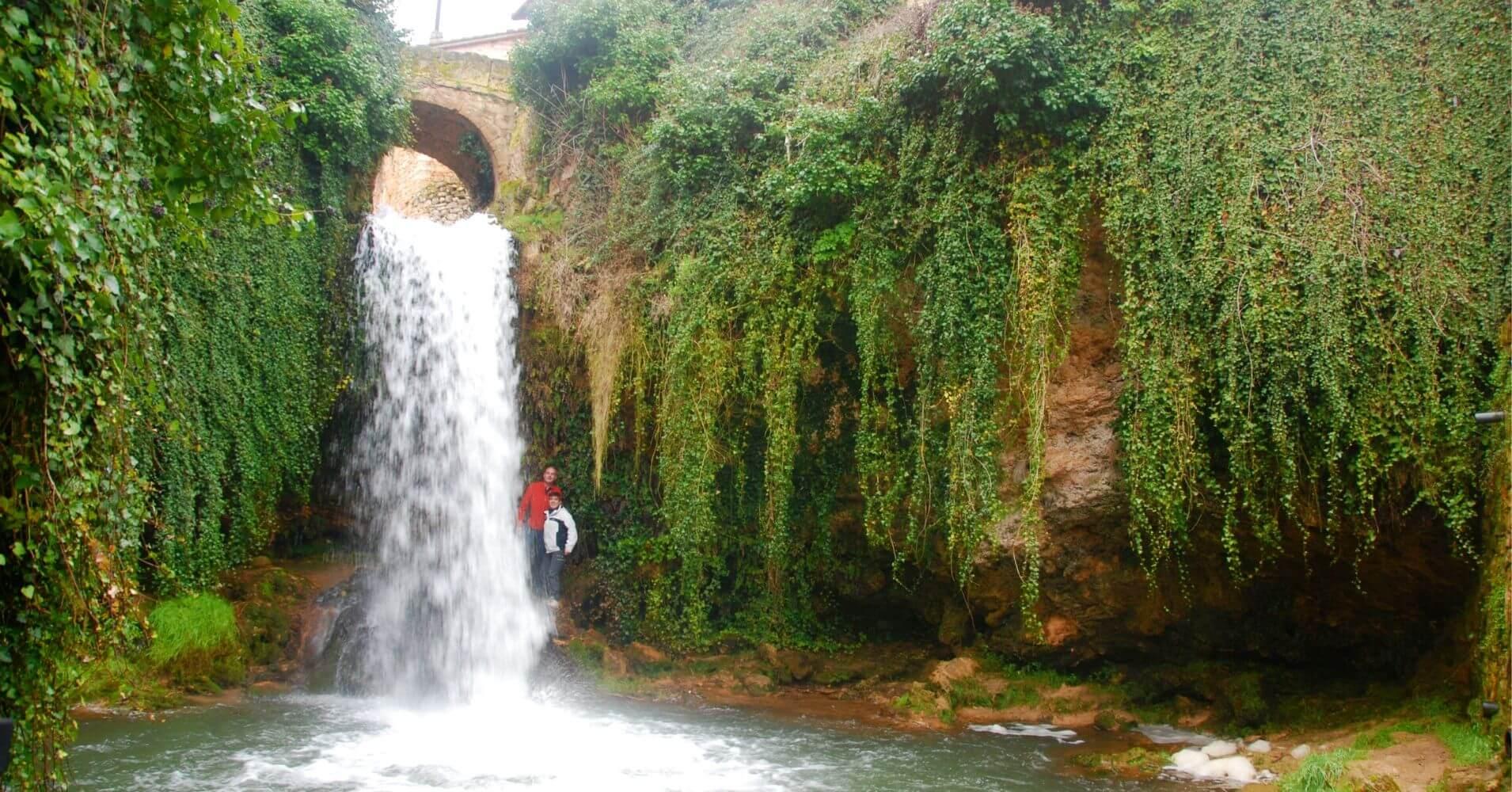 Cascadas del Paseo del Molinar. Tobera. Viaje a Las Merindades. Burgos.