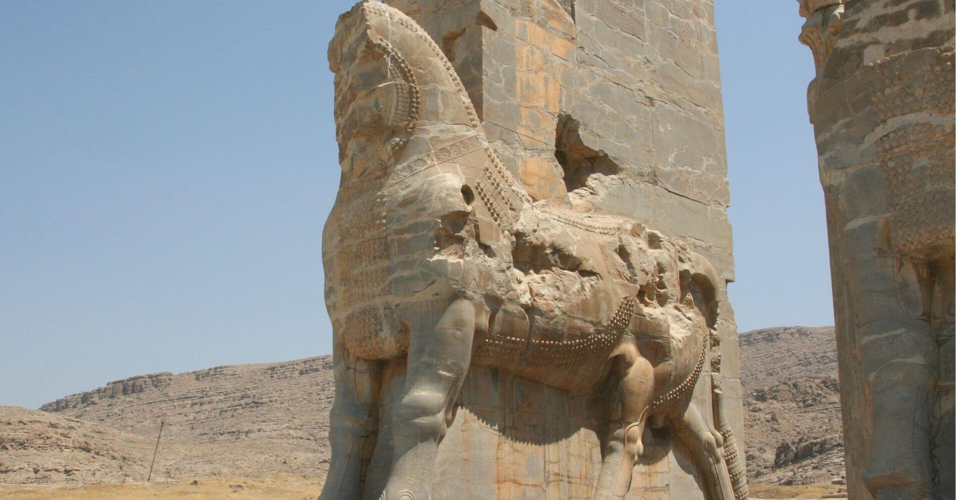 Persepolis. la Ciudad de los Persas. Irán.
