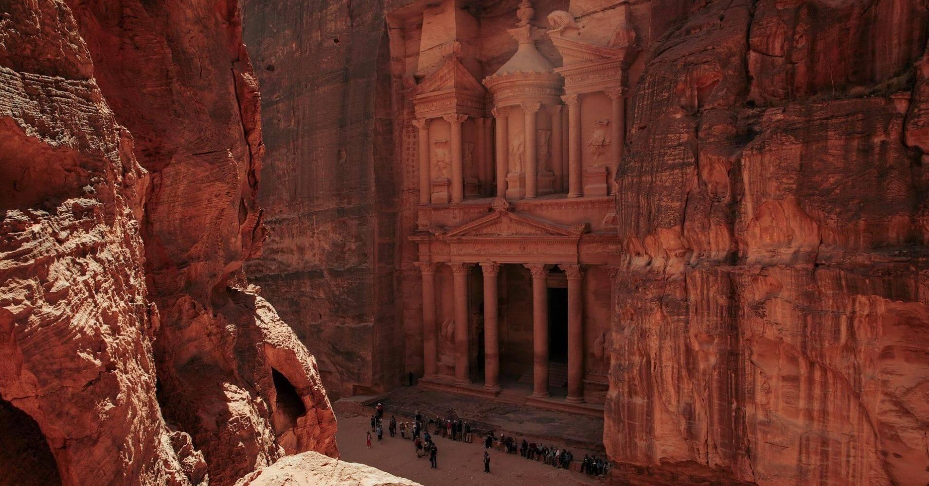 Petra, Antigua Ciudad Nabatea. Jordania.