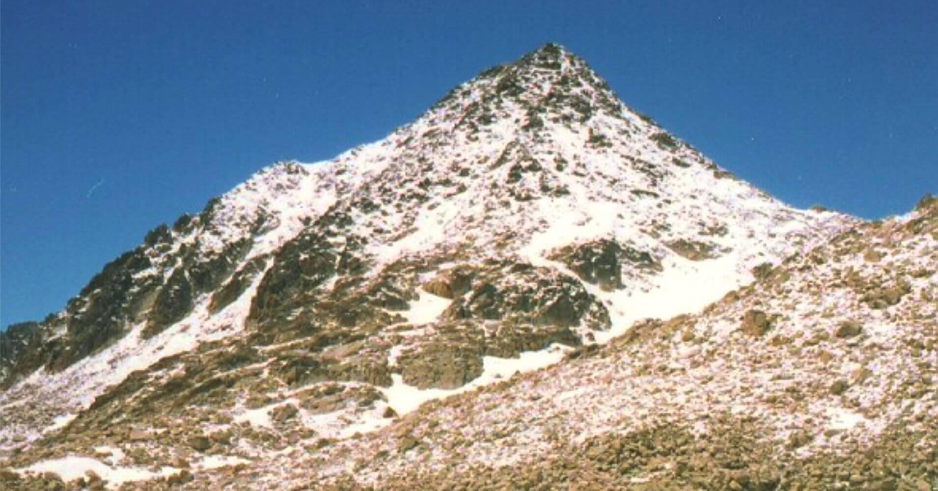Pico de Aragüells, Huesca. Aragón.