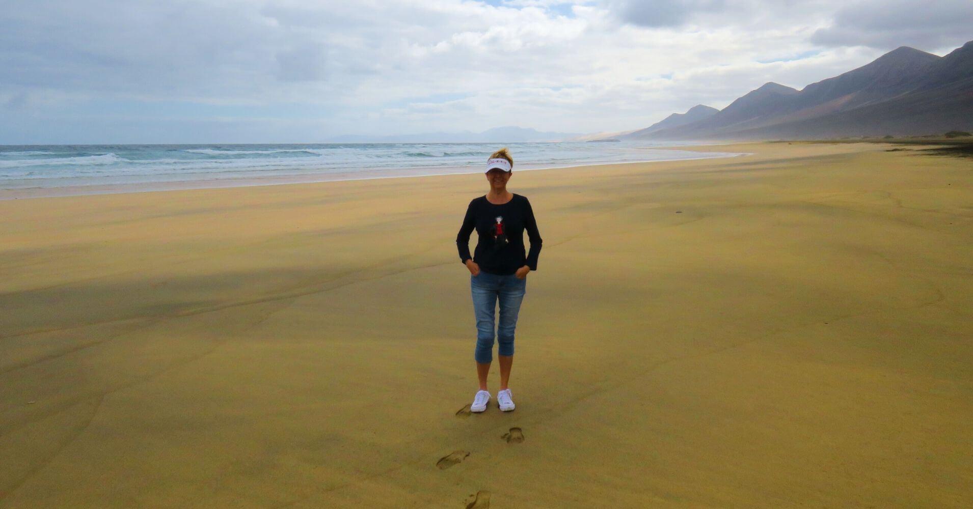 Playa de Cofete, Isla de Fuerteventura. Islas Canarias.