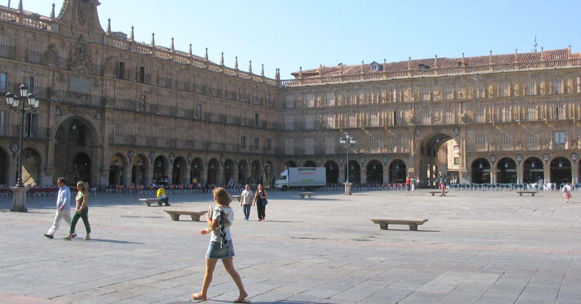 Plaza Mayor de Salamanca. Castilla y León.