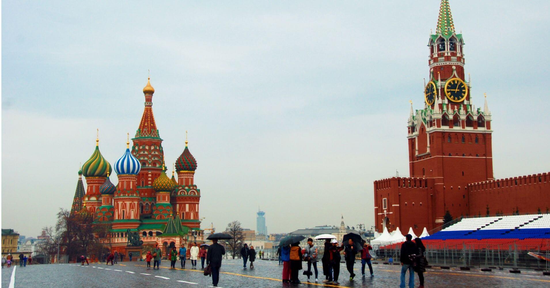 Plaza Roja de Moscú, Rusia.