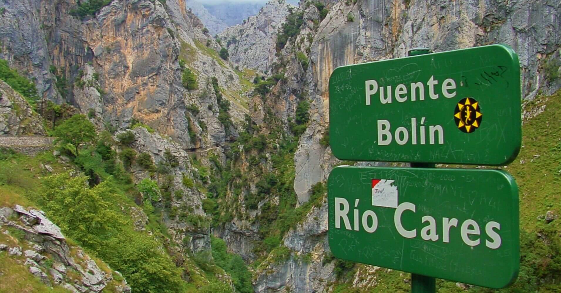Puente de Bolín. Ruta del Cares, Caín, León.