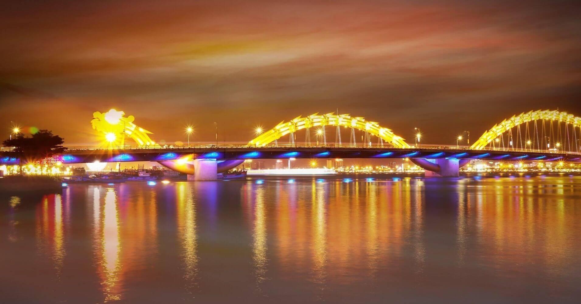 Puente del Dragón. Da Nang, Vietnam. Foto: Anh Tuan Phan.