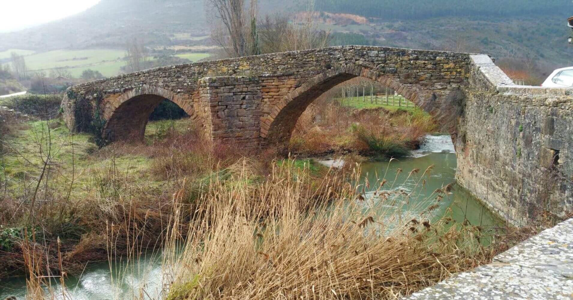 Puente Medieval de Monreal. Navarra.