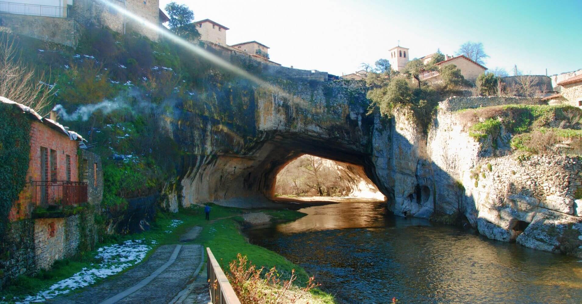Río Nela. Las merindades, Burgos. Castilla y León.