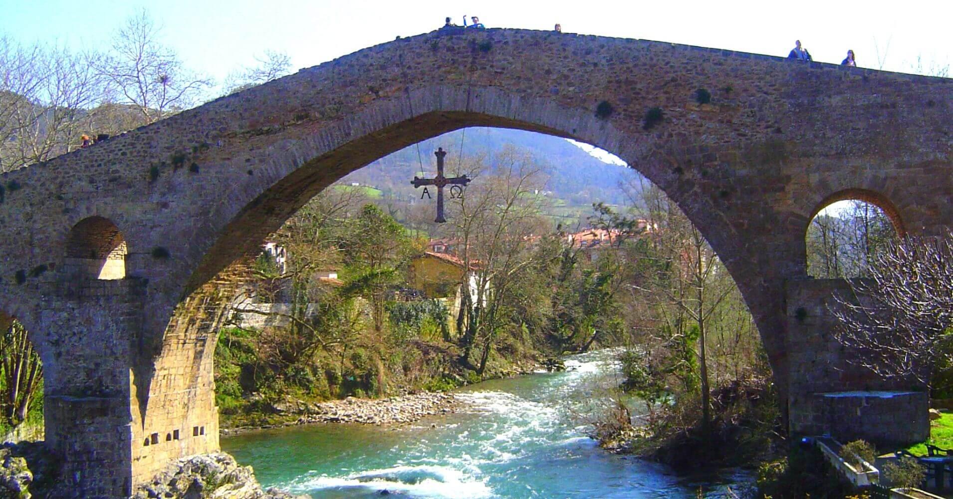 Puente Romano de Cangas de Onis. Asturias.