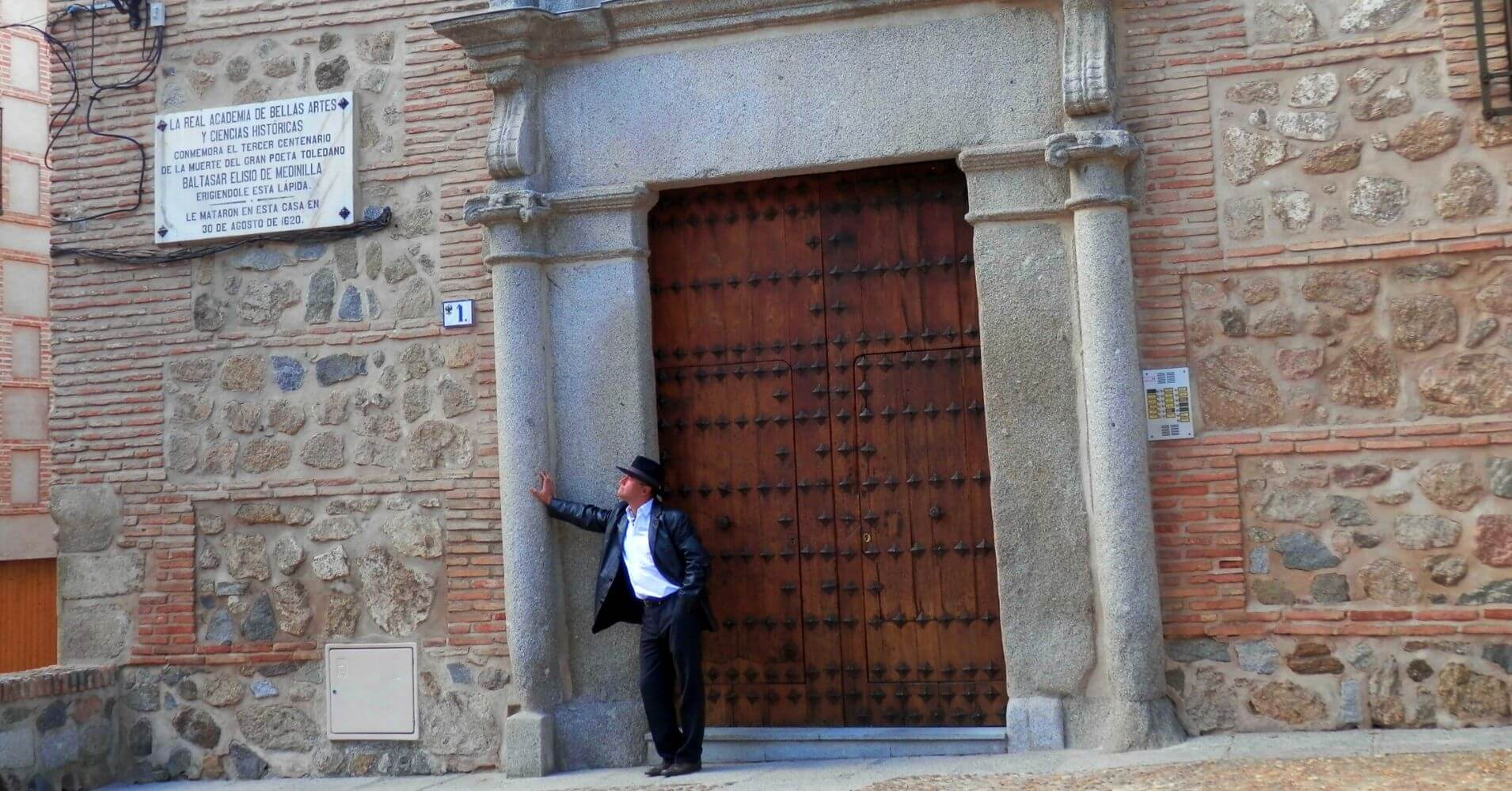 Puerta Casa Medinilla de Toledo. Castilla la Mancha.